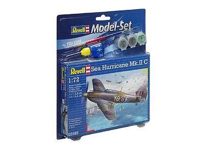 1/72 SEA HURRICANE Mk II C REVELL MODEL SET 3965