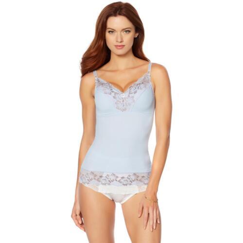2X Rhonda Shear Cross Dye Pinup Camisole in Light Blue//Mocha