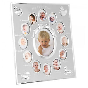 My-First-Year-Photo-Frame-Holds-13-Pictures-New-Baby-Gift
