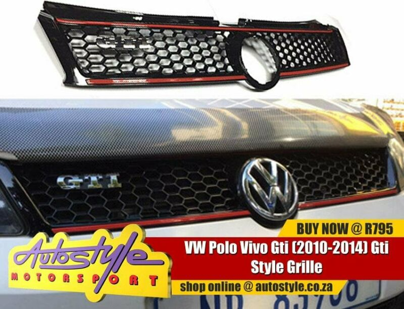 VW Polo Vivo Gti 2010-2014 Gti Style Grille full range accessories, car audio, mags, tyres, kits