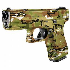 SHOTGUN-RIFLE-Camouflage-Vinyl-Wrap-GUN-SKIN-Hunting-4x4-Crossbow-ARMY-SCOPE-97
