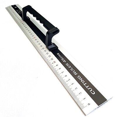 Gerade Jakar 45cm Alu-lineal Mit Griff Selbermachen Handwerkzeug Lineal Gerade Kante