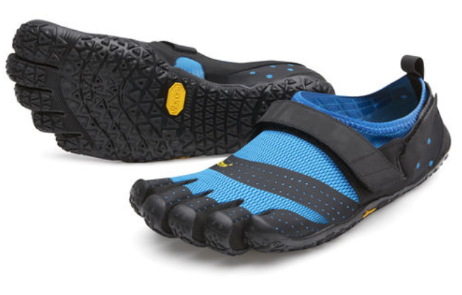 Vibram Fivefingers V-Aqua bluee Black Men's sizes 39-49 NEW