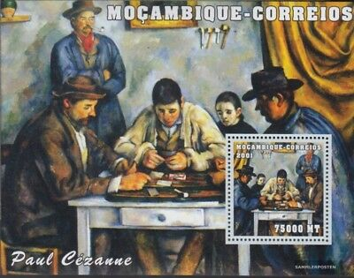 Mozambique Popular Brand Mosambik Block101 Postfrisch 2001 Kunstwerke Topical Stamps