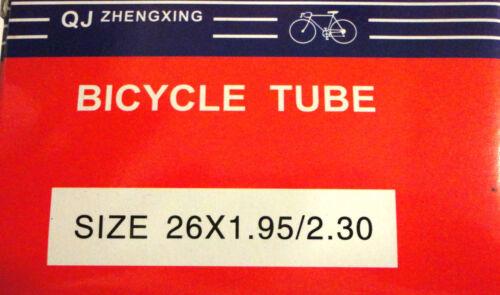 "26/"" inches x 1.95 2.30  Bicycle Tube Interior Bike Tire Inner tube New"