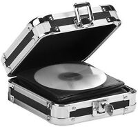 Vaultz Black With Aluminum & Steel 24-disc Capacity =locking Cd Wallet=, Vz01126