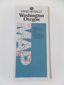 Vintage-Rand-McNally-Washington-Oregon-Map