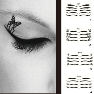 Eye Cosmetic Tattoo Eyeliner Stickers
