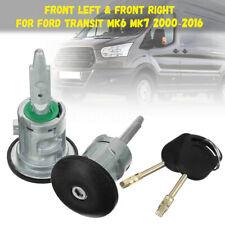 Fits Ford Transit Front Left Right Door Lock Barrel /& 4 Keys PSLKIT2FL+LKIT2FRFO