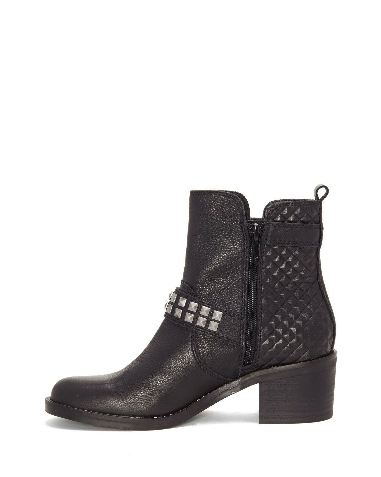 Lucky Brand Women's Size 6.5M Cantini2 Pyramid Stud Booties Booties Booties Black Leather New 4b1ad3