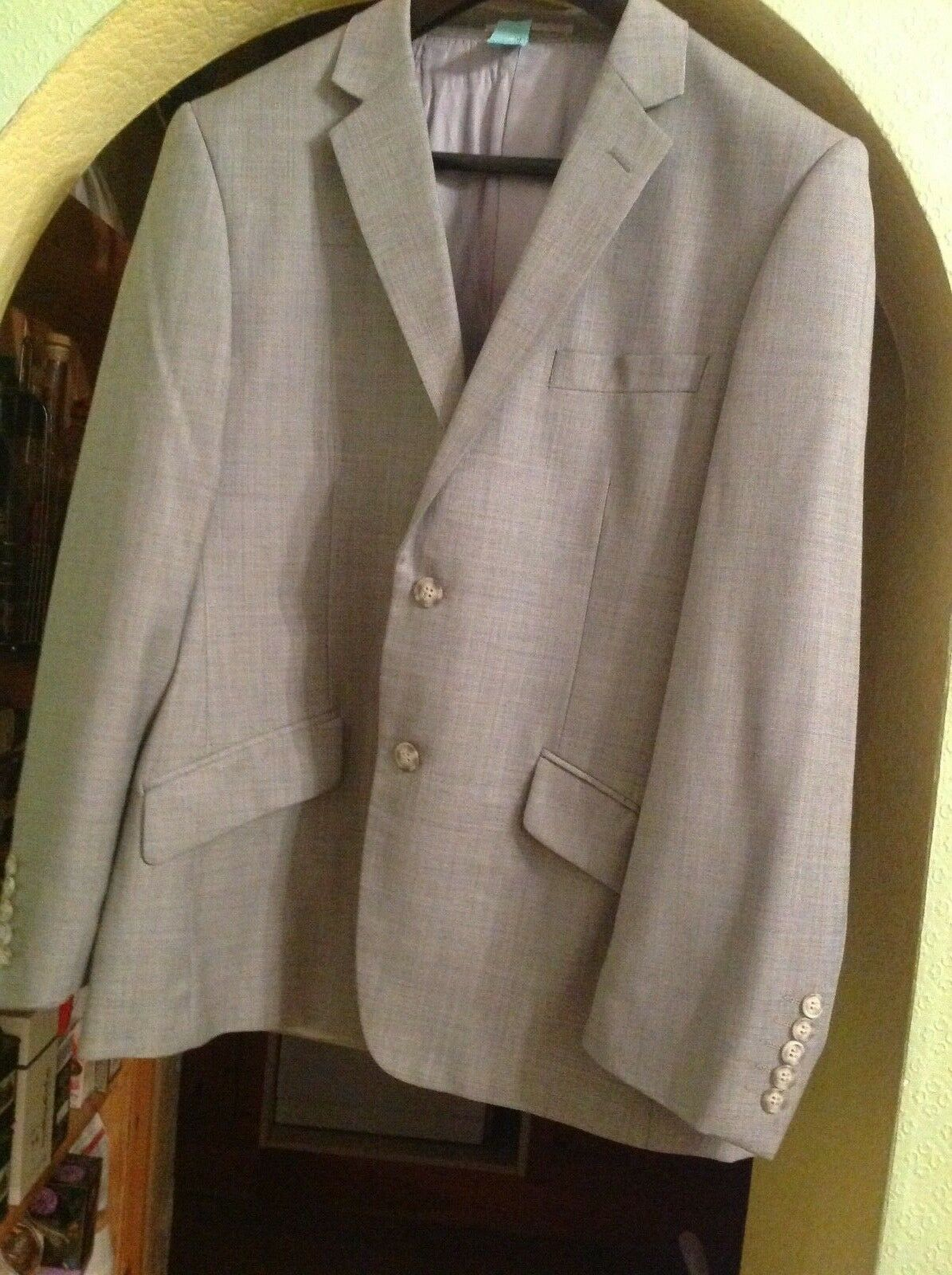 IMMACULATE MENS FRENCH CONNECTION LANA WOOL GREY SUIT SIZE  46