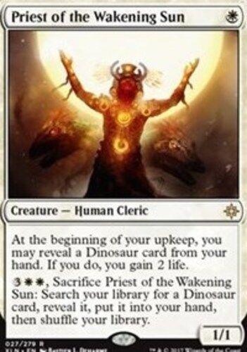 English Ixalan MTG Magic 4x Priest of the Wakening Sun NM-Mint