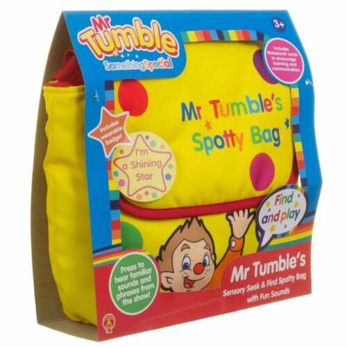 Something Special Mr Tumble Sensory Seek and Find Spotty Bag with Fun Sounds