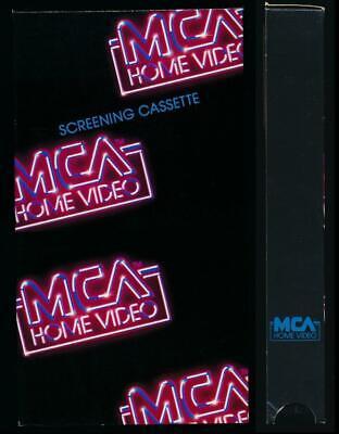 Mca Home Video Vhs Carrete De Remolque De 1990 De Agosto Por Menor Solo Articulo Raro Videoclub Ebay