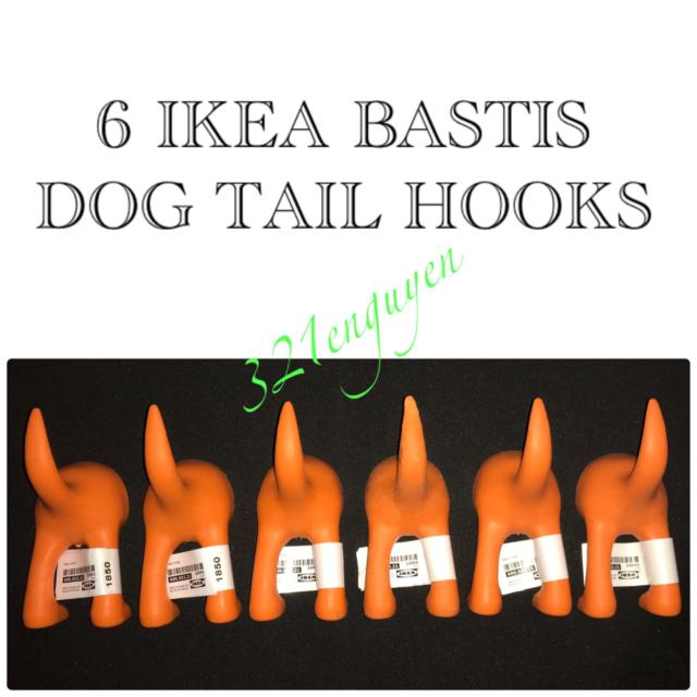 """IKEA /""""Bästis/"""" Kleiderhaken// Garderobenhaken// Wandhaken// Aufhängehaken Hund"""