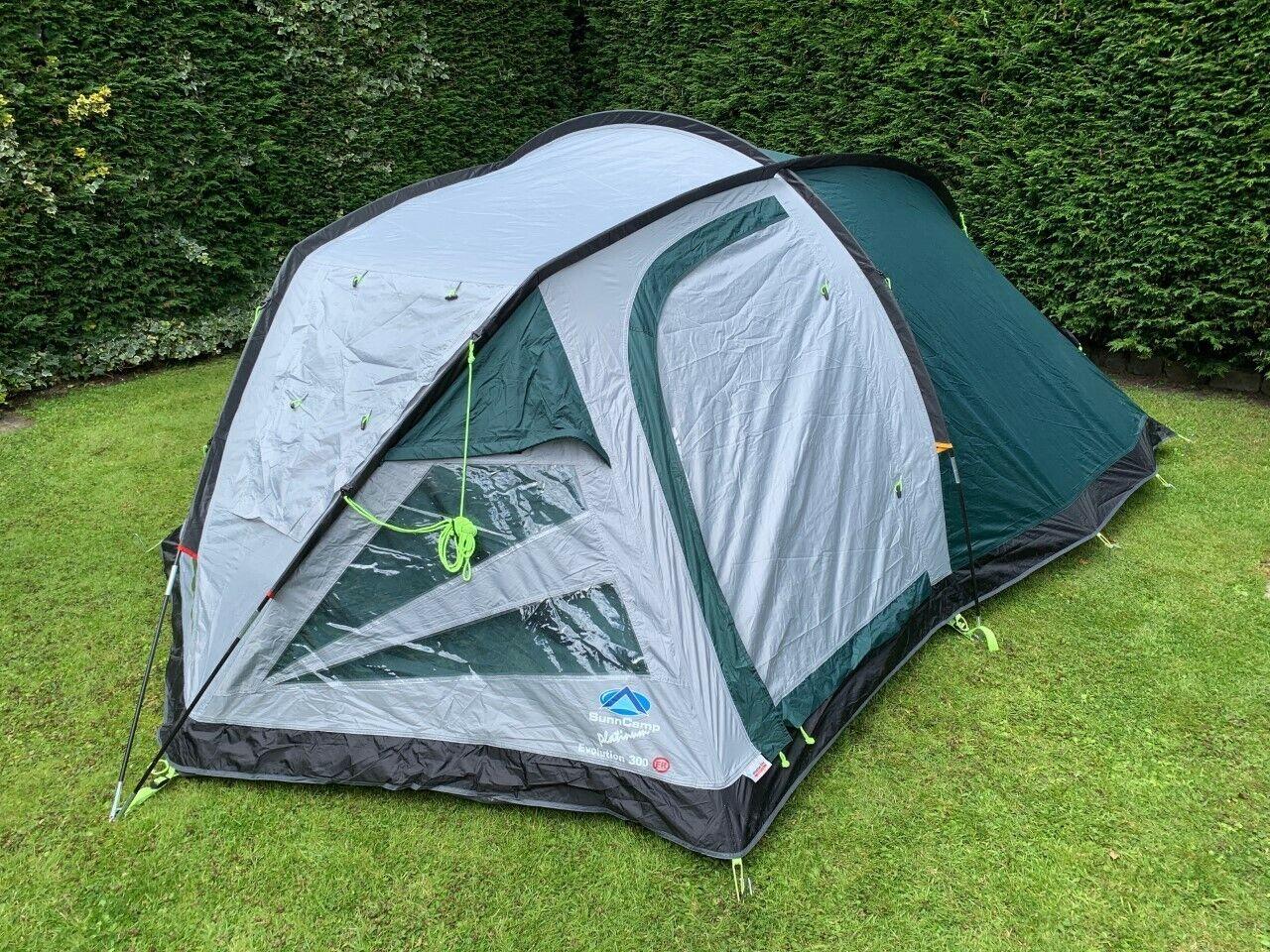sunncamp Evolution 300 3 Man Tent
