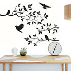 Birds Tree Branches Wall Sticker Decal Vinyl Art Mural Home Room Decor 34*60cm
