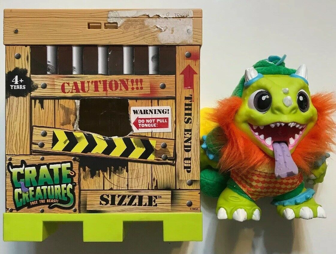 Crate Creatures Surprise  Sizzle MGA Enterprises Free the Beast  Over 44 Sounds