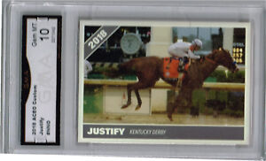 2018-Justify-Horse-Racing-Kentucky-Derby-Race-Horse-Rookie-Gem-Mint-10