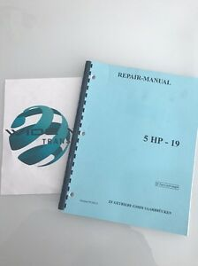 repair manual zf5hp19 tech ebay rh ebay com Bentley VW Repair Manual Chilton Repair Manual
