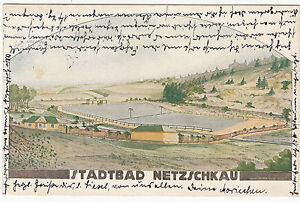 AK NETZSCHKAU Vogtland 1925 Stadtbad   ( 1262