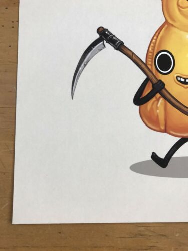 Scythe 2017 Mike Mitchell poster Food Dudes print honey reaper