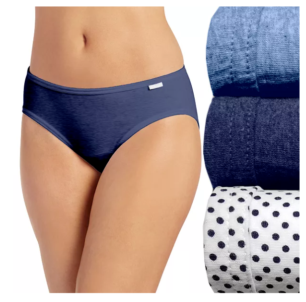 Jockey Womens Bikini 3 Pack Underwear Bikini Briefs 100/% cotton