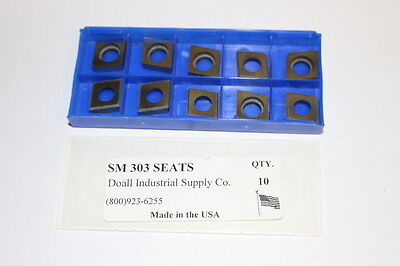 10 new RMC Tooling SM-297 Carbide Shim Insert Seats Square Turning Tool Holder