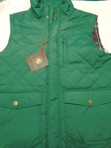 Southern-Proper-Varsity-Green-Quilted-Vest-NWT-Large-125