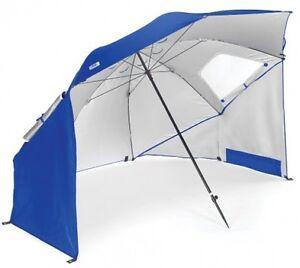 Image is loading Sport-Brella-Beach-Umbrella-Sun-Tent-Rain-Shelter-  sc 1 st  eBay & Sport-Brella Beach Umbrella Sun Tent Rain Shelter Large Canopy ...