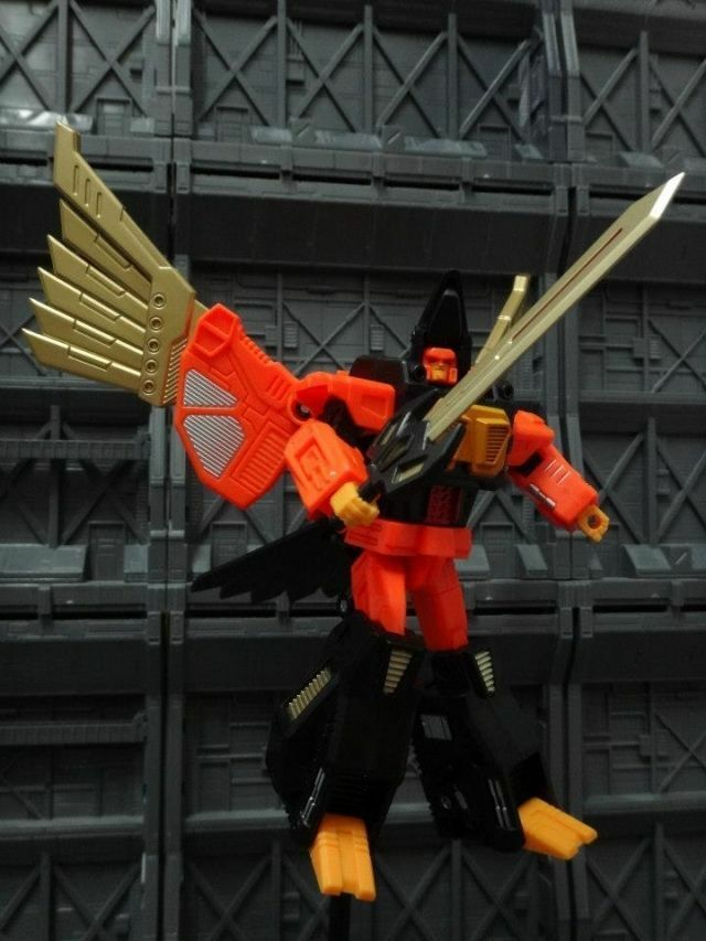 Unique Toys - War Lord - UT-W01 War Hawk - Predaking