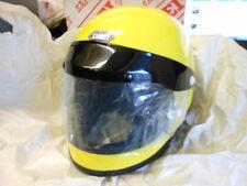 NOS Vintage NEW Large Yellow Shoei S-20 Retro Full Face Helmet Cafe Bobber