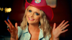 """Miranda Lambert Signed Neon Cowboys Light Up Hat from """"Tequila Does"""" Music Video"""