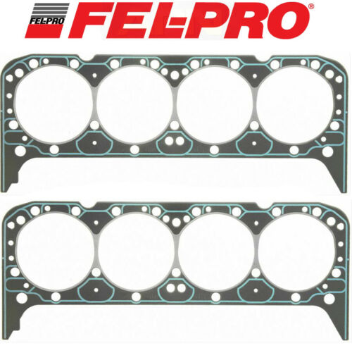 FEL PRO Performance 1255 VORTEC Intake+1003 Head Gaskets for Chevy 327 350 383