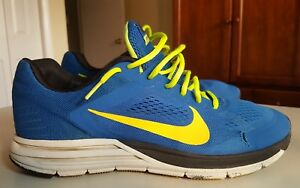 buy online a5d20 f9f8c Details about Nike Zoom Structure+ 17, 615587 408, Blue/Mango/Black, Men's  Running, Size 12.5