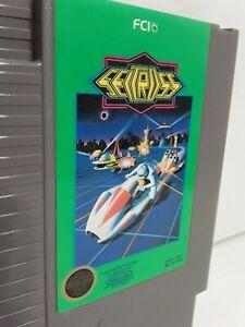 Seicross-NES-Nintendo-Entertainment-System-1988-FCI-Classic-Game-w-Sleeve