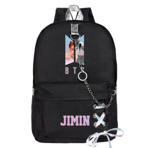 Neu Fashion Rucksack KPOP BTS Bangtan Boys Schule Booktravel Schultertasche