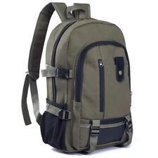 Fashion Women Canvas Sport Double-Shoulder Backpack Bag Hiking Schoolbag D1