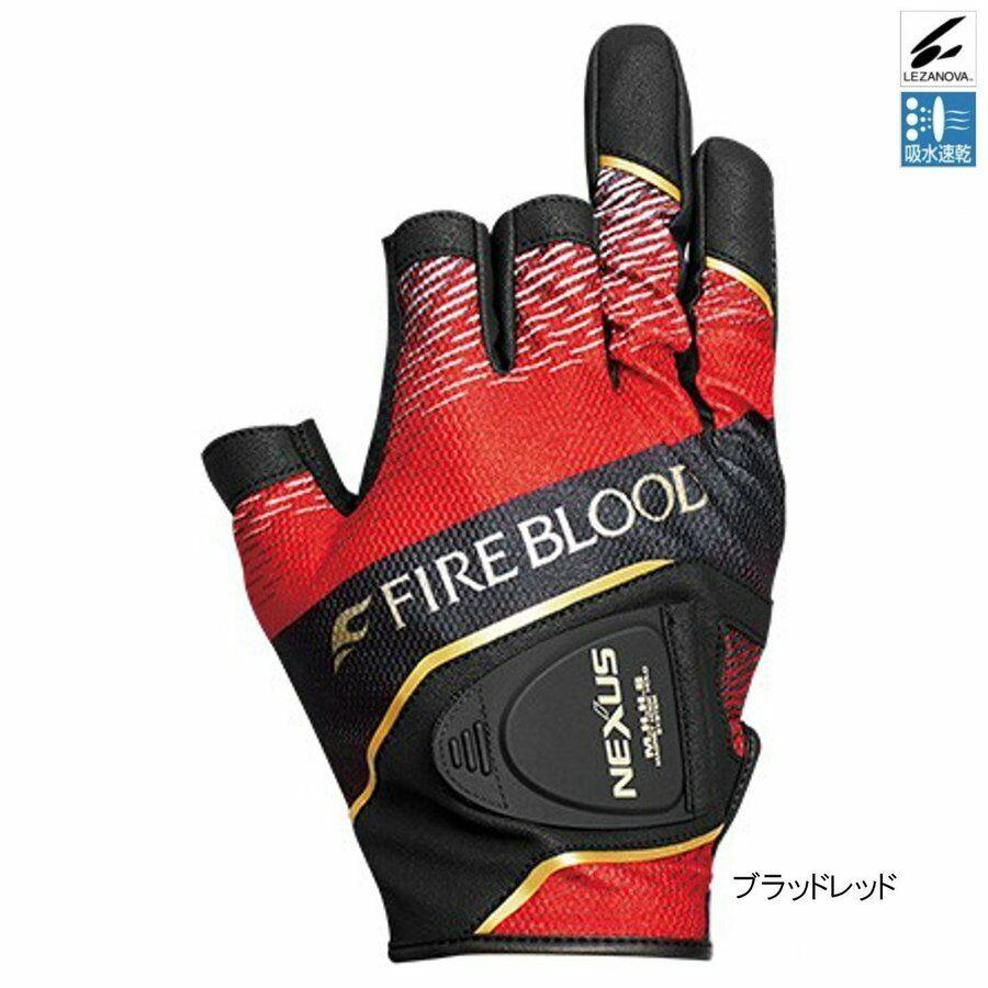 Guante De Pesca Shimano Nexus lezanova ® 3 Pro GL-141S  Rojo Japón nuevo limitado  ventas de salida