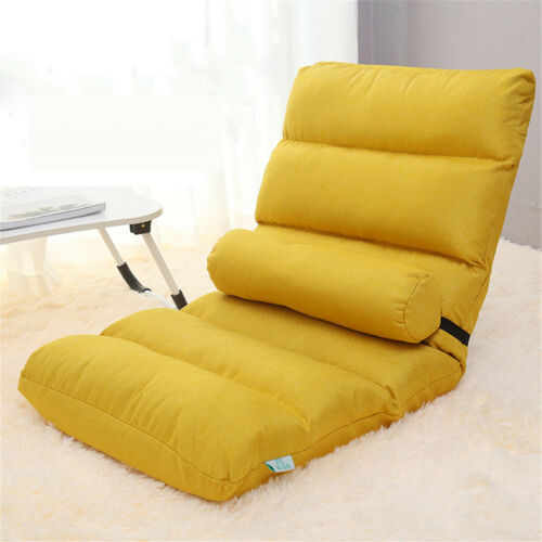 52x110CM Multi Colors Folding Lazy Couch Adjustable Floor Chair Sofa Lounger