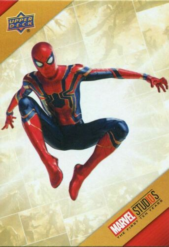 10 Years Cinematic Universe Chase Card TU21 Spider-Man Marvel Ten