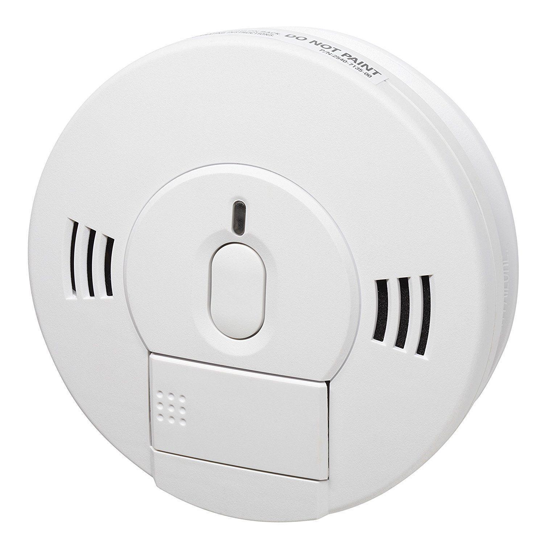 Kidde 10sco combinado Detector de humo y monóxido de carbono notificación de voz de alarma