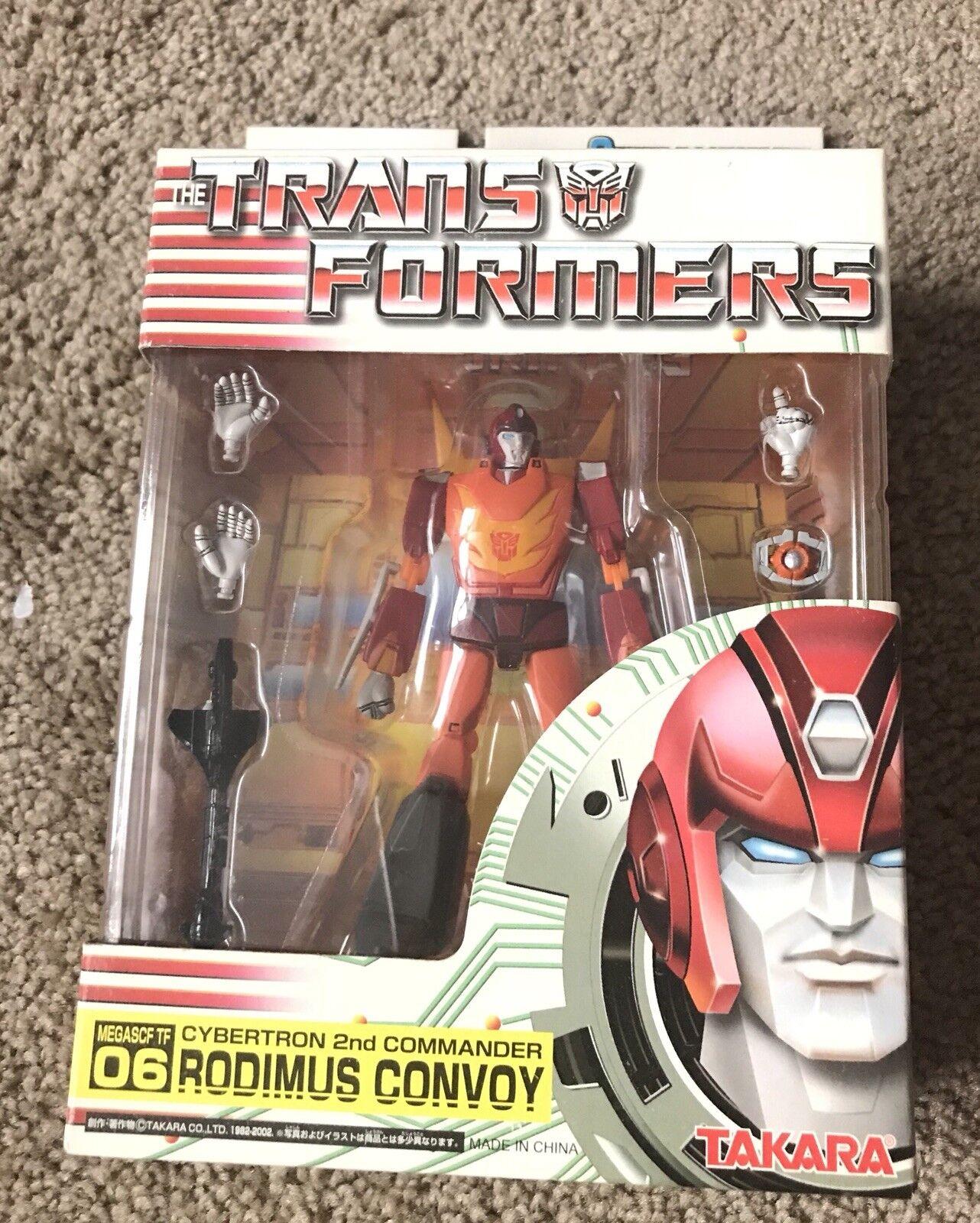 Takara Transformers Rodimus Convoy MEGASCF TF 06 Cybertron 2nd Commander