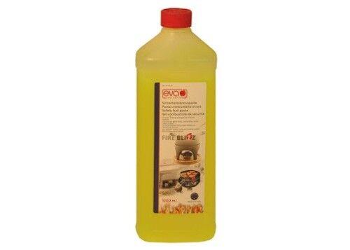 """EVA """"FIRE BLITZ"""" Pasta Combustibile (bio-etanolo) bottiglia da 1 LT"""