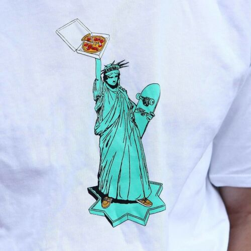Nike SB Statue of Liberty Pizza T Shirt Large Gent