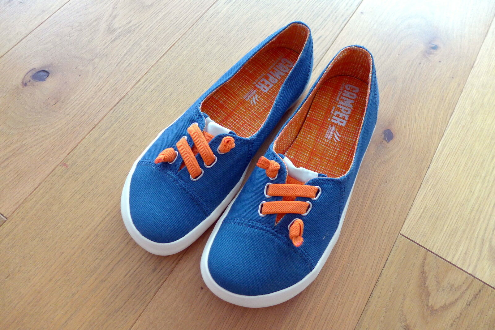 adidas ballerinas grau orange