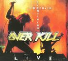 Wrecking Everything -- Live [Digipak] by Overkill (CD, Nov-2009, Metal Mind Productions)