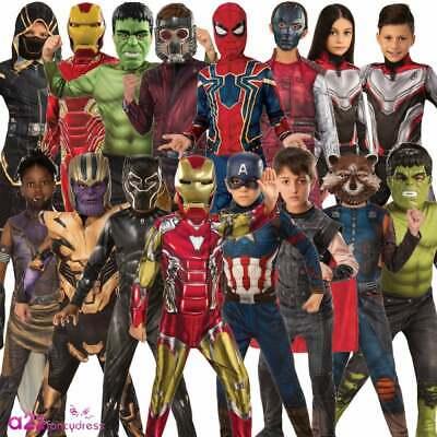 Attento Bambini Ufficiale Marvel 2019 Vendicatori Mossa Finale Costumi Bambini Ragazzi Ragazze Costume-mostra Il Titolo Originale Aspetto Elegante