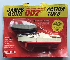 VINTAGE GILBERT GLIDROSE 16541 JAMES BOND 007 DR NO DRAGON TANK+LARGO HYDROFOIL