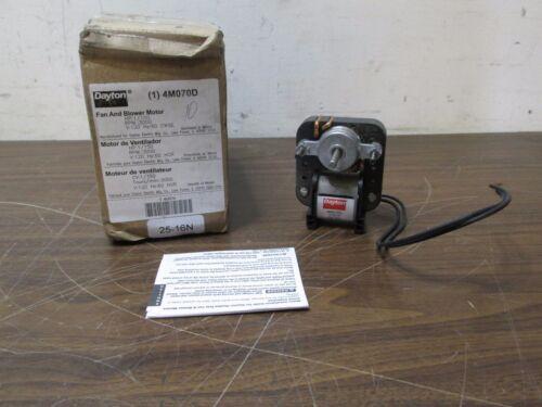 Dayton Fan /& Blower C-Frame Motor 4M070D 1//150 HP 3000 RPM 120V CWSE NEW